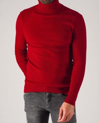 Красная мужская водолазка. Арт.:8-734
