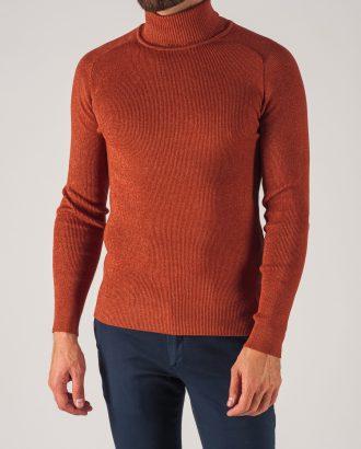 Мужская водолазка оранжевого цвета. Арт.:8-736