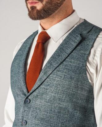 Современный мужской костюм зеленого цвета. Арт.:4-739-5