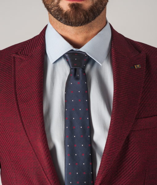 Мужской пиджак в  бордовом цвете. Арт.:2-741-5