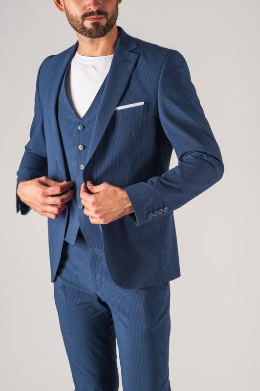 Стильный мужской костюм-тройка. Арт.:4-742-3