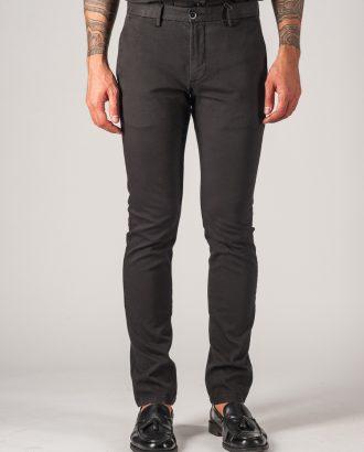 Черные мужские брюки без стрелок. Арт.:6-751-2