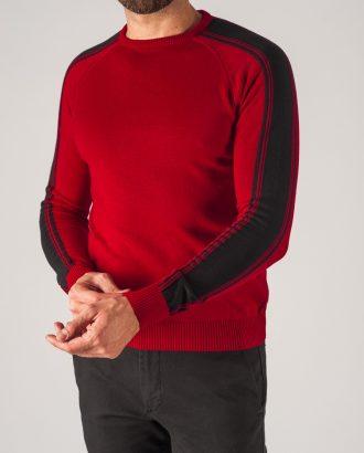 Мужской джемпер красного цвета. Арт.:8-752