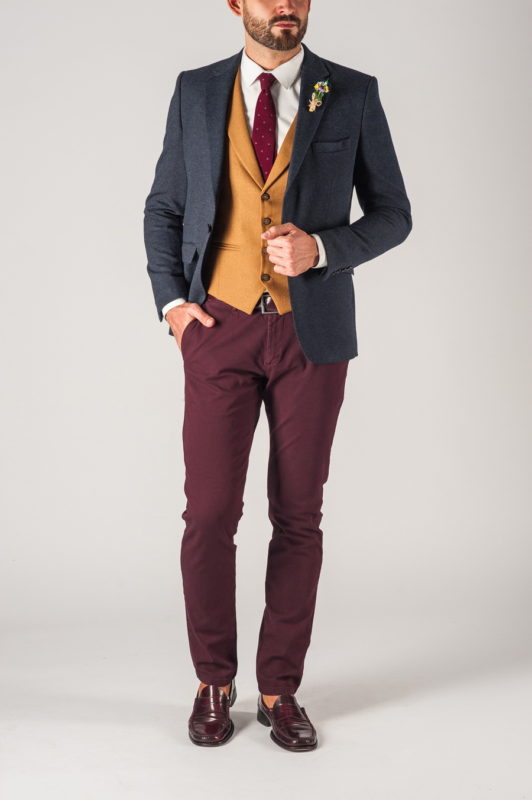 Мужской темно-синий пиджак. Арт.:2-754-1