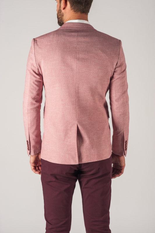 Розовый мужской пиджак. Арт.:2-755-2