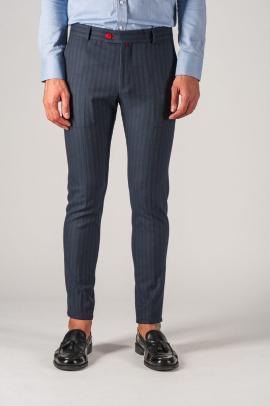 Мужские брюки в полоску. Арт.:6-757-3