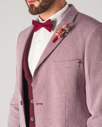 Мужской пиджак розового цвета. Арт.:2-759-2