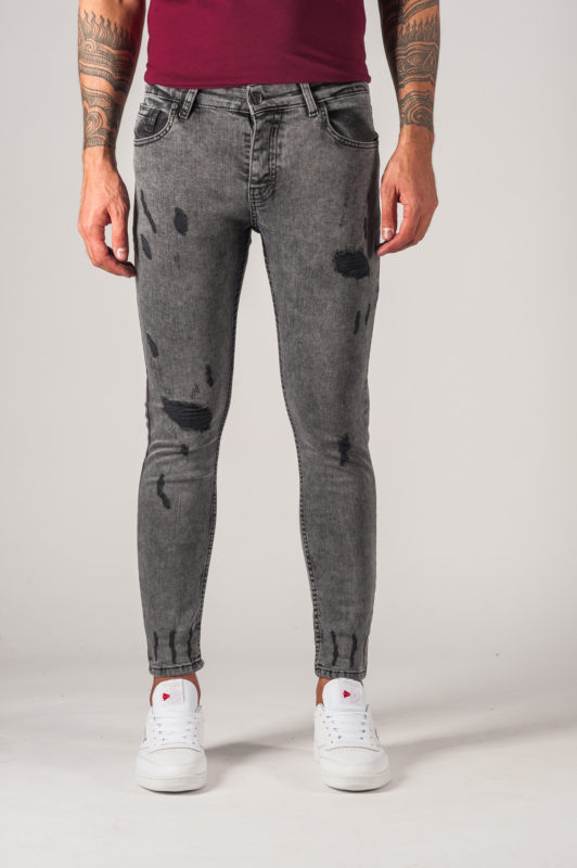 Стильные мужские джинсы skinny fit. Арт.:7-769