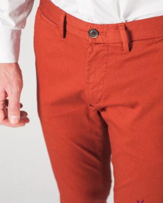 Мужские брюки терракотового цвета. Арт.:6-806-2