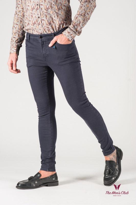 Темно-синие мужские джинсы. Арт.:7-820