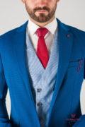 Мужской пиджак синего цвета. Арт.:2-840-9