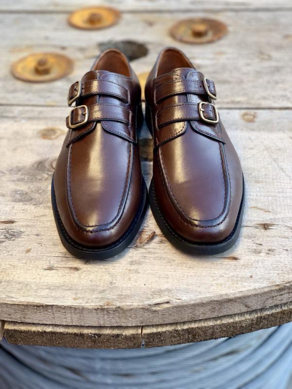 Мужские монки коричневого цвета. Арт.:14-904