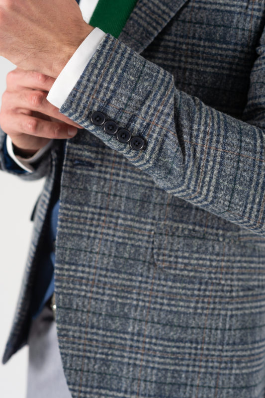 Стильный мужской костюм-тройка. Арт.:4-1222-3