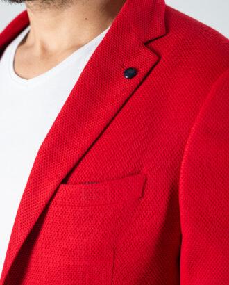 Мужской пиджак красного цвета. Арт.:2-1236-3