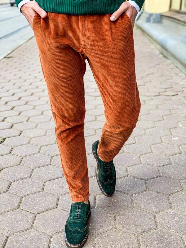 Мужские вельветовые брюки. Арт.: 6-1256-3