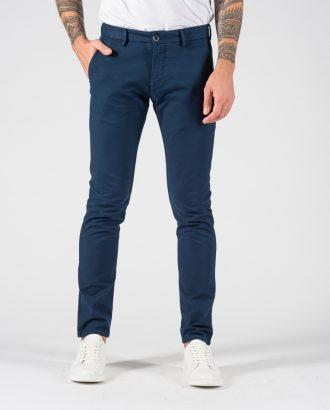 Мужские брюки-чинос синего цвета. Арт.:6-1230-2