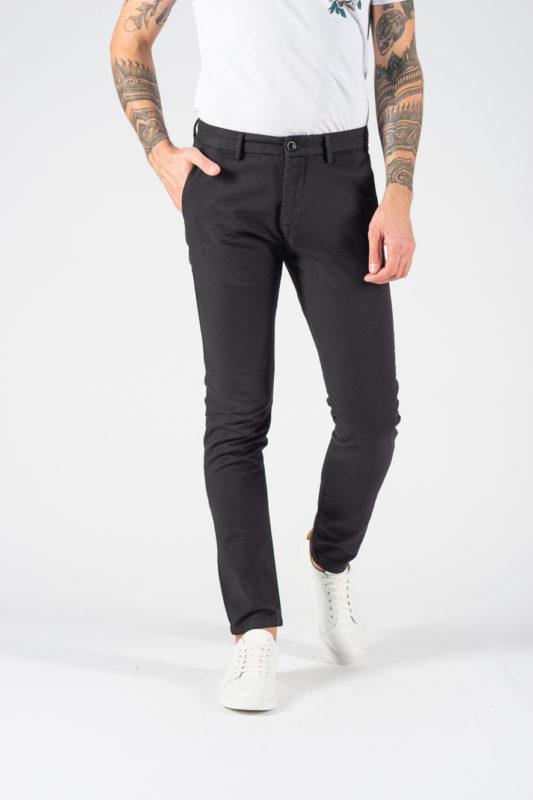 Черные мужские брюки на каждый день. Арт.:6-1238-2
