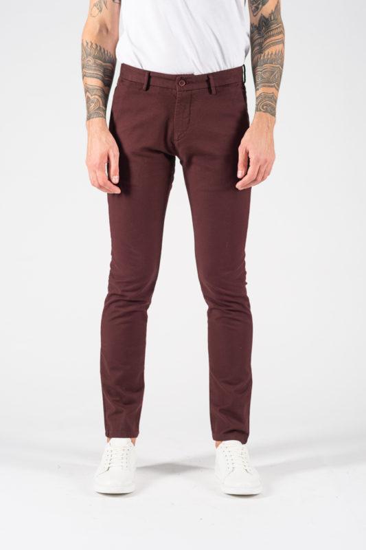 Бордовые брюки на каждый день. Арт.:6-1239-2