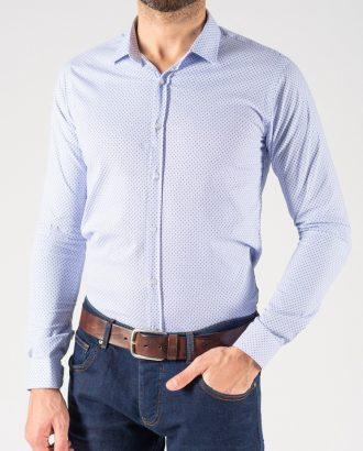 Мужская рубашка  в мелкую звездочку. Арт.:5-1241-3