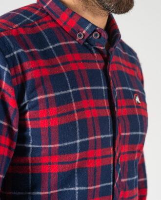 Фланелевая рубашка в крупную клетку. Арт.:5-1243-26