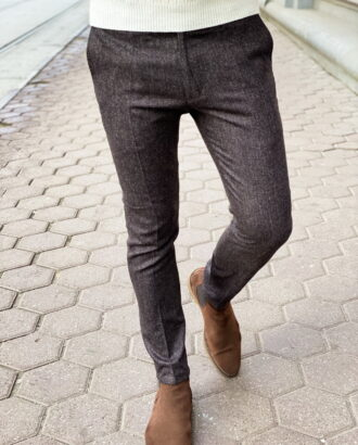 Мужские брюки серого цвета.Арт.:6-1310-3