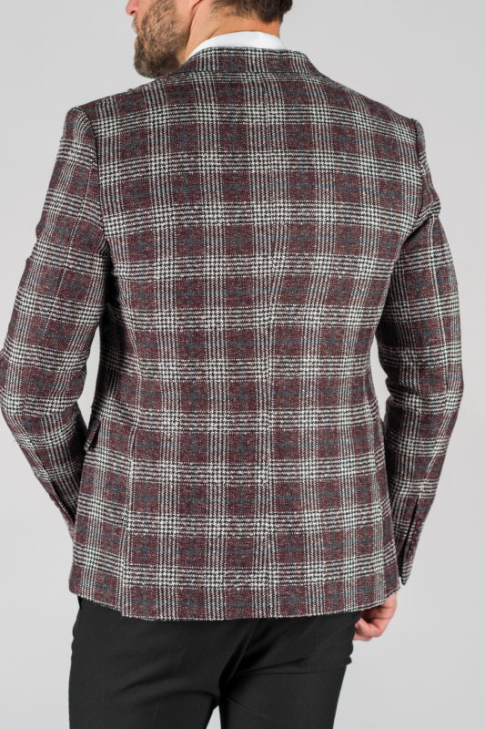 Мужской пиджак в клетку. Арт.:2-1315-5