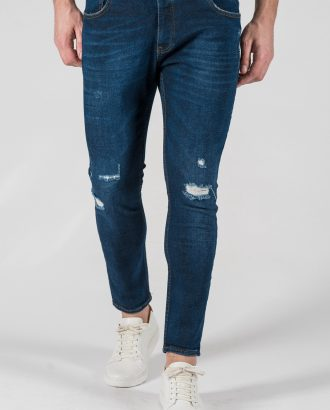 Мужские джинсы темно-синего цвета. Арт.:7-1329