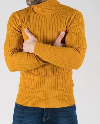 Мужская водолазка желтого цвета. Арт.:8-1330