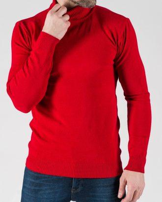 Мужская водолазка красного цвета. Арт.: 8-1332