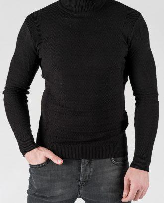 Мужская водолазка черного цвета. Арт.:8-1336