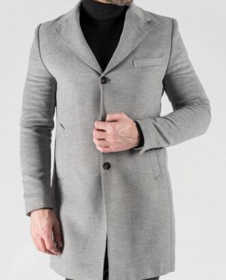 Зимнее пальто светлого цвета. Арт.: 1-1302-10