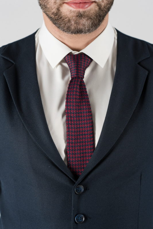 Мужской синий костюм-двойка. Арт.:4-1340-10