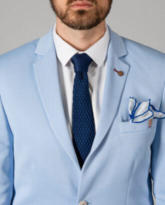Мужской пиджак голубого цвета. Арт.: 2-1404-2