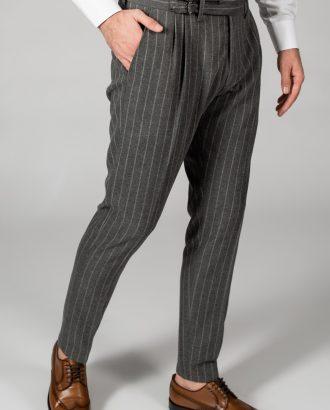 Стильные мужские брюки в полоску. Арт.:6-1437-3
