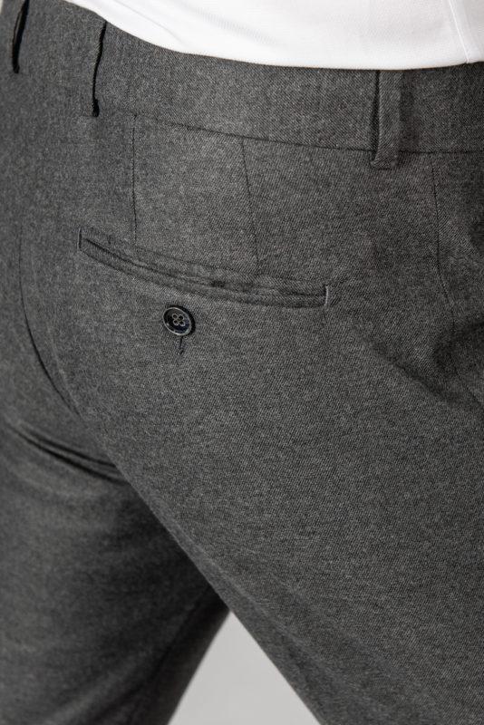 Брюки темно-серого цвета со стрелками. Арт.:6-1438-2