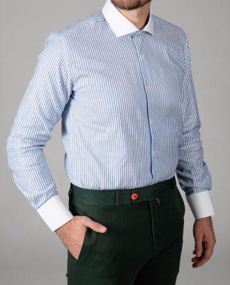 Мужская рубашка в полоску. Арт.:5-1447-3