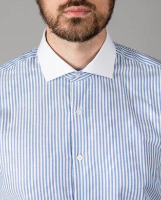 Мужская рубашка в полоску. Арт.: 5-1447-3