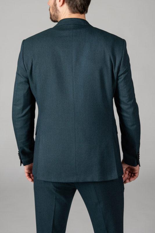 Стильный костюм-двойка зеленого цвета. Арт.: 4-1415-8