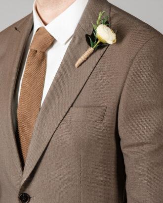 Мужской приталенный костюм-двойка. Арт.: 4-1417-8