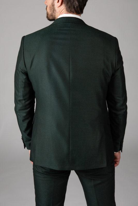 Костюм-двойка темно-зеленого цвета. Арт.: 4-1420-8