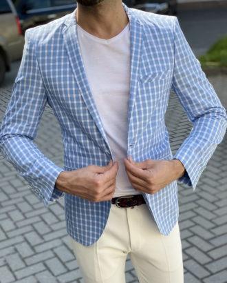 Летний хлопковый пиджак. Арт.:2-1644-6
