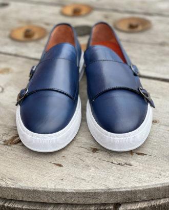 Синие монки с белой подошвой. Арт.:14-1622