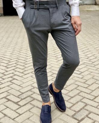 Стильные брюки с защипами. Арт.:6-1664-3