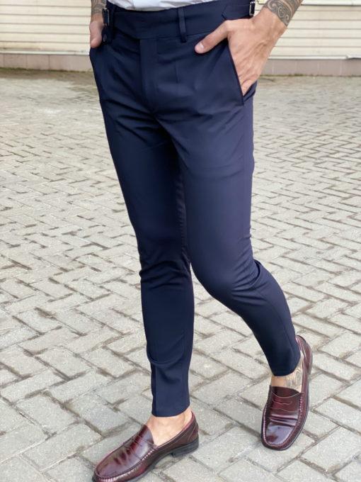 Стильные брюки с застежкой на ремешках. Арт.:6-1746-3