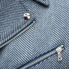 Стильное пальто серого цвета. Арт.:1-1789-2