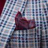 Мужской серый пиджак в клетку. Арт.:2-1790-5