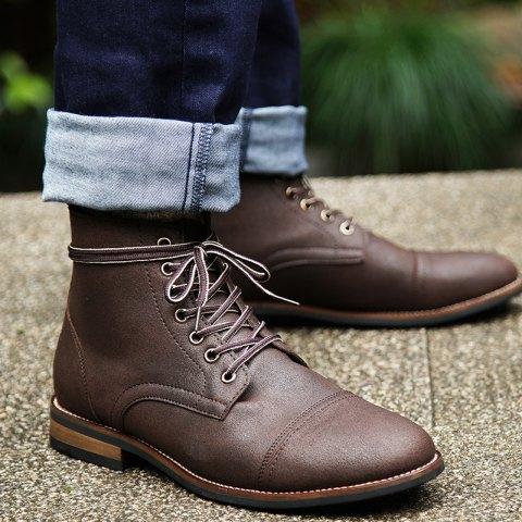 Выбираем мужскую обувь на осень