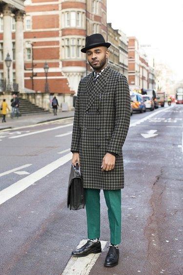Как подобрать обувь под мужское пальто