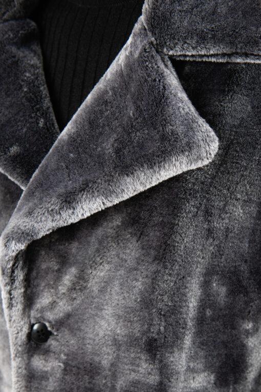 Мужская шуба из искусственного меха. Арт.:1-1841-1