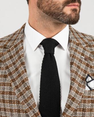 Стильный пиджак бежевого цвета в клетку. Арт.:2-1844-5